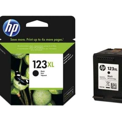 Printer Toner Cartridges - Hewlett Packard HP 123XL Black Toner Cartridge image