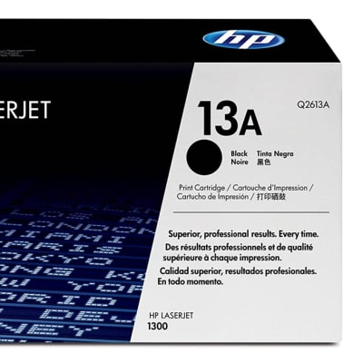 Printer Toner Cartridges - Hewlett Packard 13A (HP Q2613A) Black Toner Cartridge  image