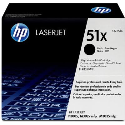 Hp 51x Q7551x High Yield Black Ink Cartridge  image