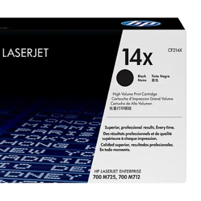 Hp 14x Cf214x High Yield Black Toner Cartridge  image
