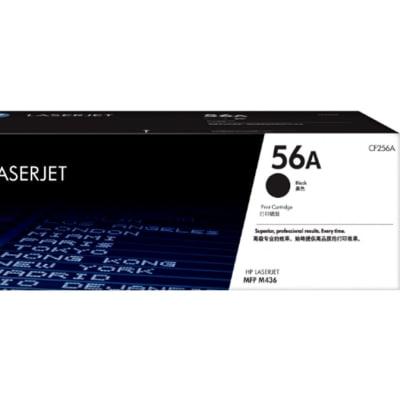 Hp 56a Cf256a Black Toner Cartridge  image