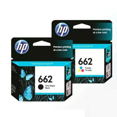 Hp 662 Cz103a Black & Colour Ink Cartridges  image