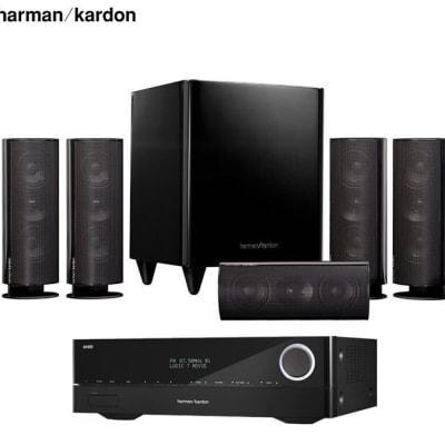 Harman Kardon 30BQ+Harman Kardon 151S Amplifier Audio Speaker 5.1 Home Theater - 1320201 image