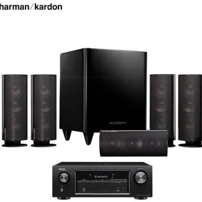 Harman Kardon +Dragon X540 Amplifier Sound Speaker 5.1 Home Theater - HKTS 30BQ image