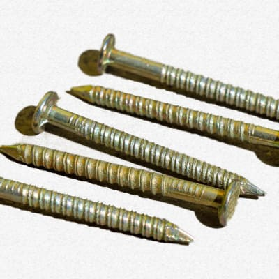 Galvanised Tile Roofing Nails image
