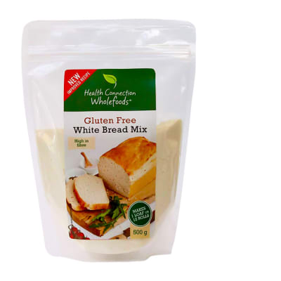 White Bread Mix Gluten-Free Gmo-Free 500g image