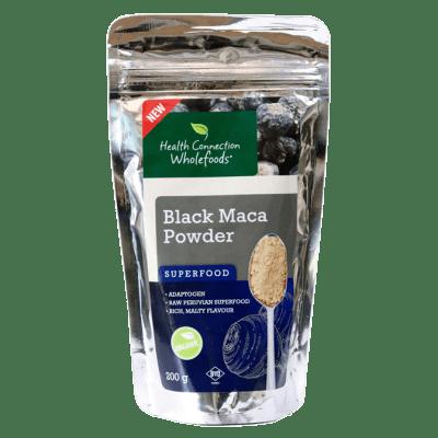 Health Connection Wholefoods  Organic Black Maca Superfood Powder  200g  image