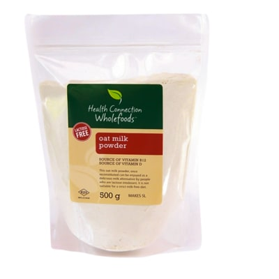 Health Connection Wholefoods Oat Milk Powder  Lactose Free 500g image