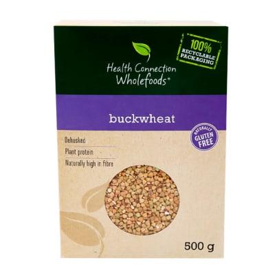 Health Connection Wholefoods Dehusked Buckwheat Gluten-Free  500g  image