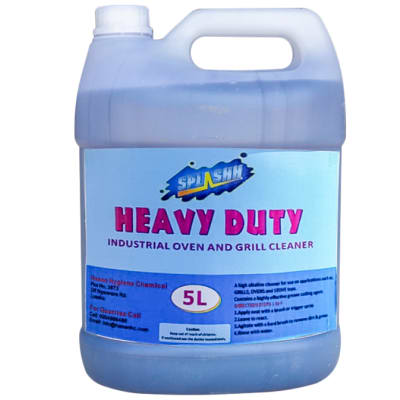 Heavy Duty Industrial Oven & Grill Cleaner 5L image