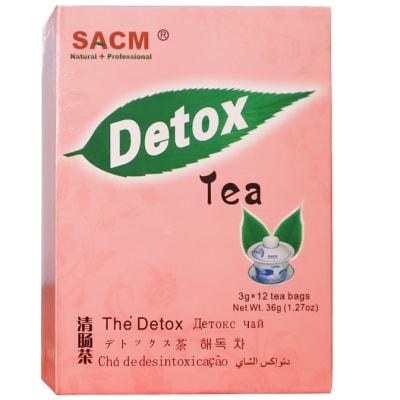 Herbal Tea Sacm Detox Tea 12 Teabags image