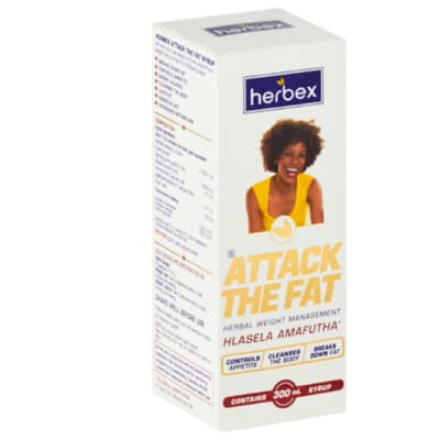 Attack the Fat Hlasela Amafutha  Herbal Weight Management Syrup   300ml image