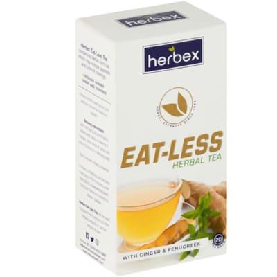 Herbal Tea Eat-Less Ginger & Fenugreek  20 Teabags image