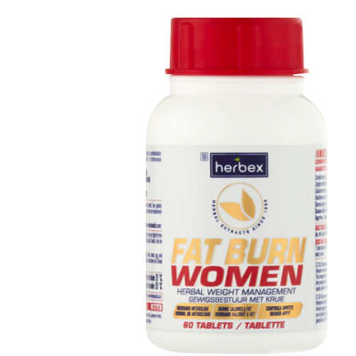 Fat Burn Women  Herbal Weight Management 60 Tablets  image