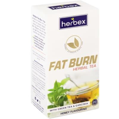 Herbal Tea Fat Burn Honey Flavoured  with Green Tea & Garcinia  20 Tea Bags image
