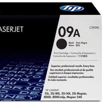 Printer Toner Cartridges - Hewlett Packard 09A (HP C3909A) Black Toner Cartridge image