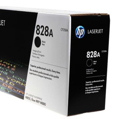 Printer Imaging Unit- Hewlett Packard 828A (HP CF358A) Black Imaging Drum Unit image