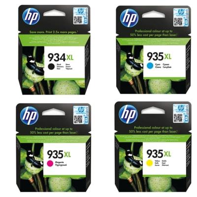 Hp 934xlb/ 935xl Black & Colour High Yield Ink Cartridges image