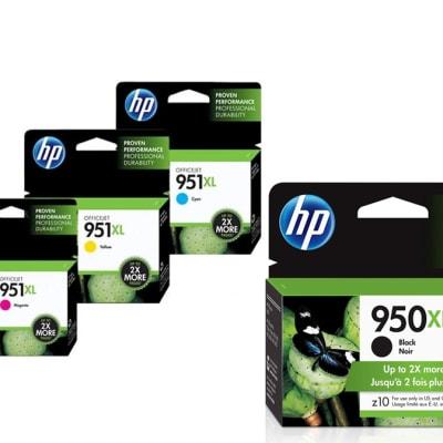 950/951xl Assorted Colour Ink Cartridges image