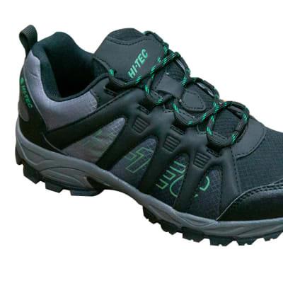 Hi-Tec Walking Shoes Black & Blue image