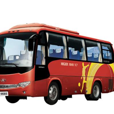 30 Seater Higer bus - KLQ6796 image