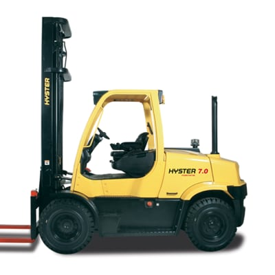 Hyster H6.0-7.0FT Diesel and LPG Counterbalanced Fork Lift Truck image