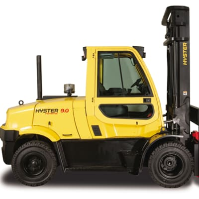Hyster H8.0-9.0FT Diesel and LPG Counterbalanced Fork Lift Truck  image