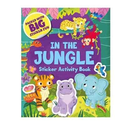 In the Jungle  Sticker  Activity Book image