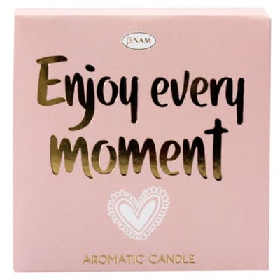 Inspire Aromatic Candle - Enjoy Every Moment - Orchid Scented image