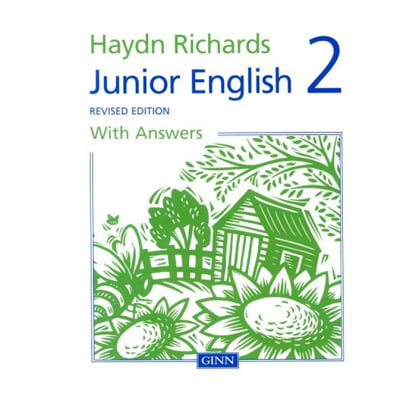 Hayden Richards  Junior English 2 Revised Edition with Answers image