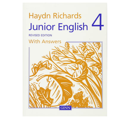 Hayden Richards  Junior English 4  Revised Edition with Answers  image