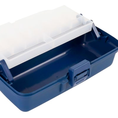 Jarvis Walker Single Tray Clear Top Tackle Box image