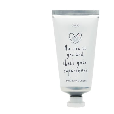"""Jenam Sentiments  Hand & Nail Cream """"No One Is You and That's Your Superpower"""" image"""