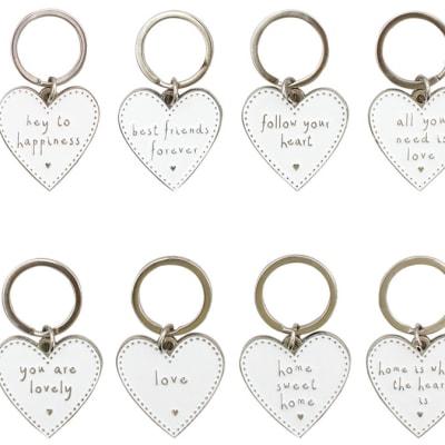 Keychain Enamel  Sentiments  - Key Holder image