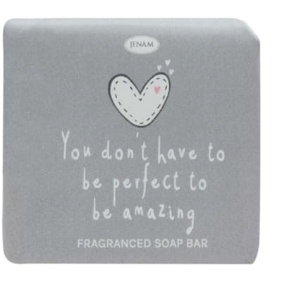 """Jenam Sentiments Soap  """"You Don't Have to Be Perfect to Be Amazing"""" image"""