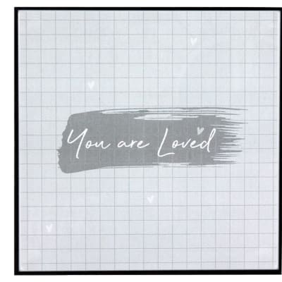 """Wall Art Inspirational Messages """"You Are Loved"""" image"""