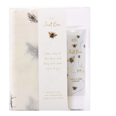 Scarf Set  Just Bee with Hand and Nail Cream  image