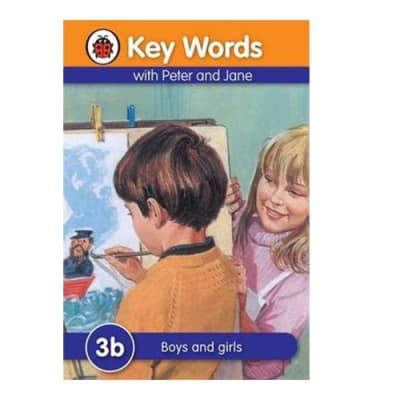 Key Words with Peter and Jane 3b Boys and Girls image
