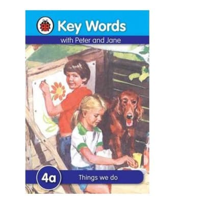 Key Words with Peter and Jane 4a Things We Do image