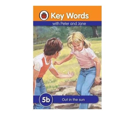 Key Words with Peter and Jane 5b Out in the Sun image