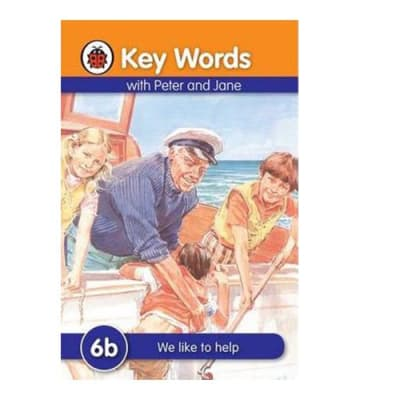 Key Words with Peter and Jane  6b We like to Help image