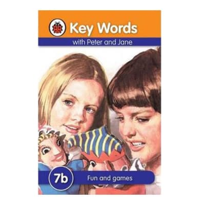 Key Words with Peter and Jane  7b Fun & Games  image