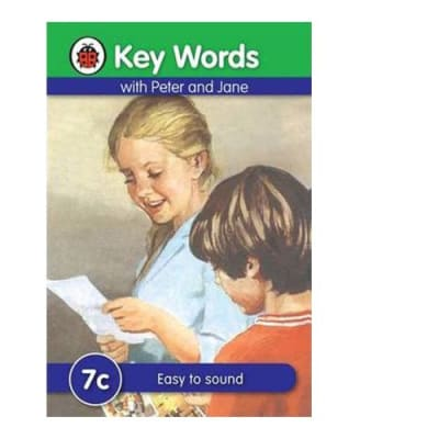 Key Words with Peter and Jane  7c  Easy to Sound  image