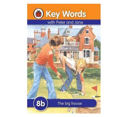 Key Words with Peter and Jane  8b the Big House  image