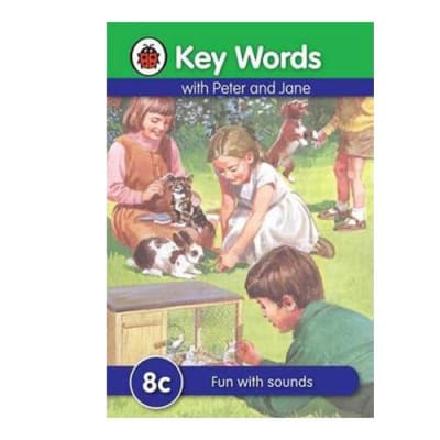 Key Words with Peter and Jane  8c Fun with Sounds  image