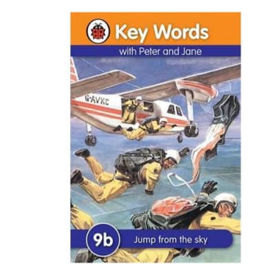 Key Words with Peter and Jane  9b Jump from the Sky image