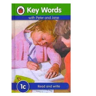 Key Words with Peter and Jane  1c Read and Write  image