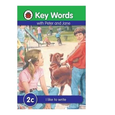 Key Words with Peter and Jane  2c I like to Write  image