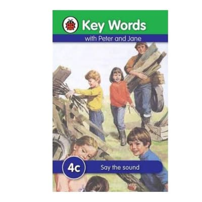 Key Words with Peter and Jane 4c Say the Sound image