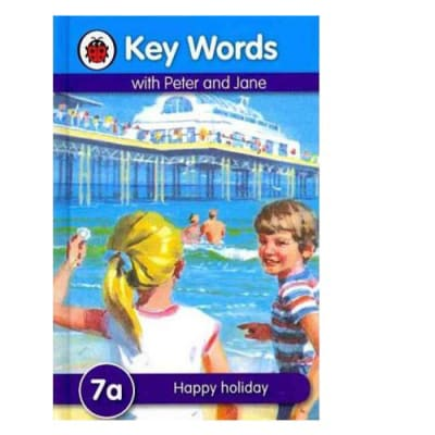 Key Words with Peter and Jane  7a  Happy Holiday  image